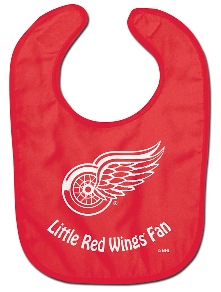 Detroit Red Wings Baby Bib - All Pro Little Fan