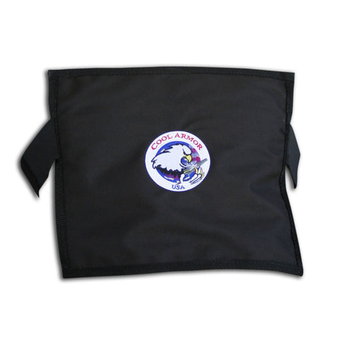 Glacier Tek Cool Armor - Black, Includes GlacierPack