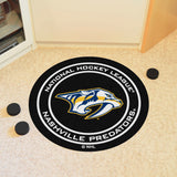 "NHL - Nashville Predators Puck Mat 27"" diameter"