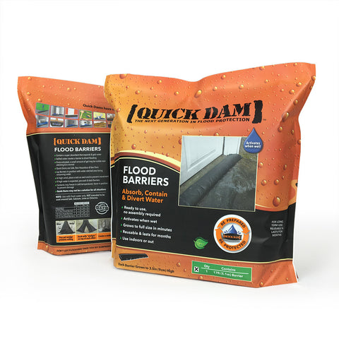 Quick Dam 5' Flood Barrier - 1 Bag
