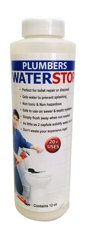 WaterStop 12oz Bottle - 1 Bottle (Sewer & Septic Safe)