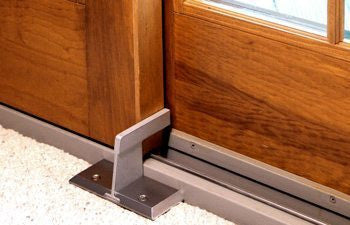 Nightlock patio for sliding glass doors reality check xtreme for Home door security devices