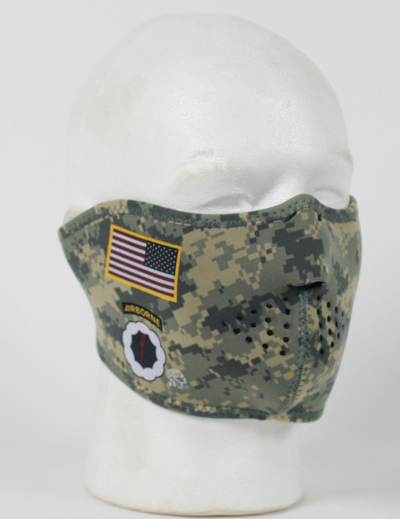Face Mask - 1/2 Army Combat Uniform Neoprene