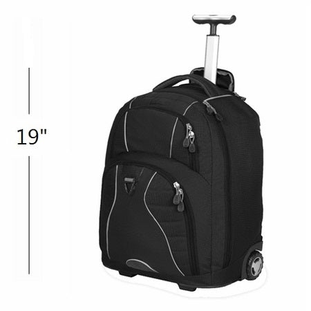 BulletBlocker NIJ IIIA Bulletproof Rolling Backpack