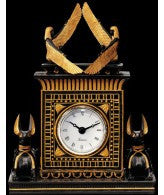 Anubis Egyptian Sculptural Clock