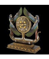Winged Goddess Isis Egyptian Clock