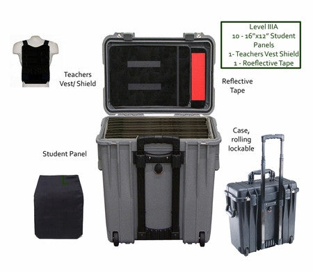 Bulletblocker NIJ IIIA Bulletproof School Safety Insert Kit