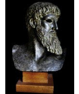 Poseidon Zeus Head Bust from Athens Museum