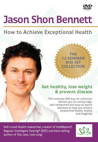 How to Achieve Exceptional Health 12-Seminar Box Set Collection