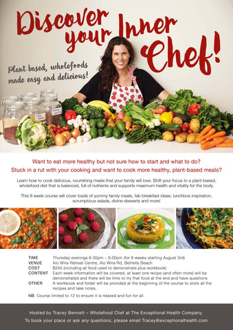 Discover Your Inner Chef Workshop with Tracey Bennett
