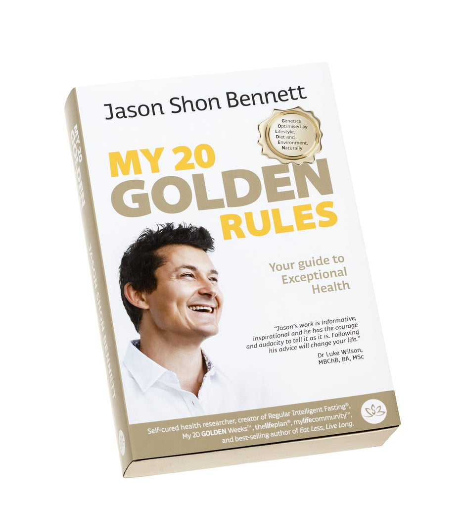 My 20 Golden Rules - HARD Cover Book