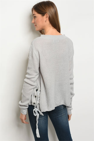 products/Grey_Lace_Up_Side_Sweater_-_Back.jpg