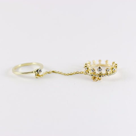 Crown & Chain Ring