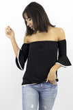 Tatiana Trumpet Sleeve Top