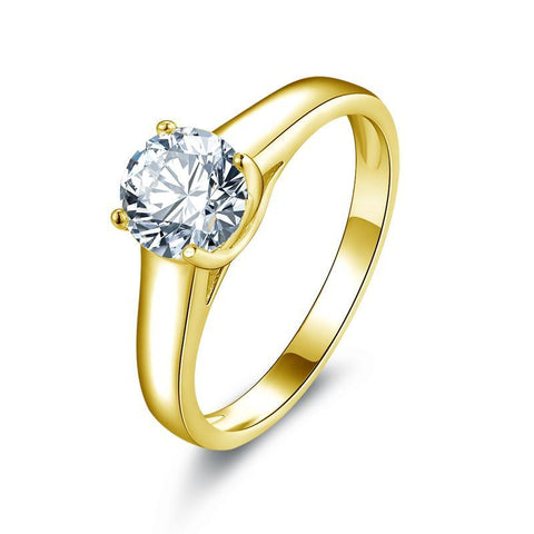 1 Carat Solitaire 10 K Ring BEST PRICE THIS YEAR