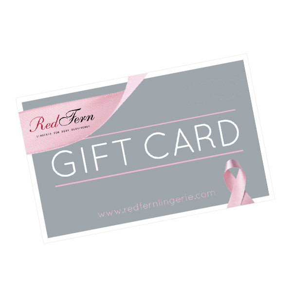 Red Fern Lingerie Gift Card $100 AUD