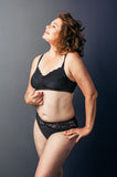 Stella Midnight Black Mastectomy Bra
