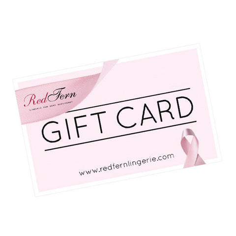 Red Fern Lingerie Gift Card $50 AUD