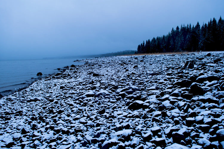 Snow Tide, Lake Almanor, November 2015