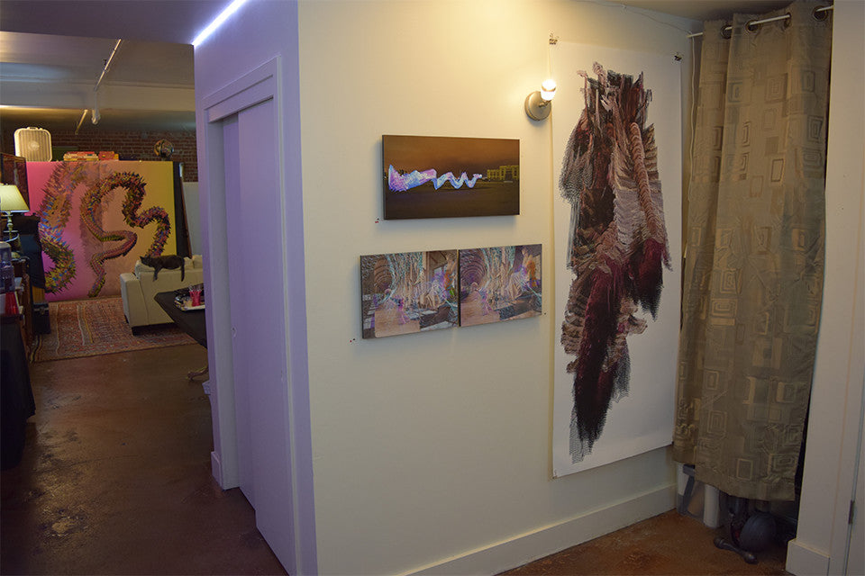 East Bay Open Studios, entry view, June 2015