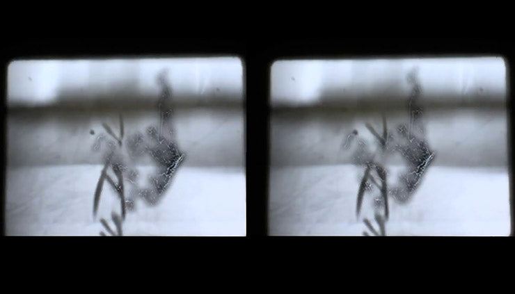 Still from Stereoscopic Exquisite Corpse in 2.5D, 2013