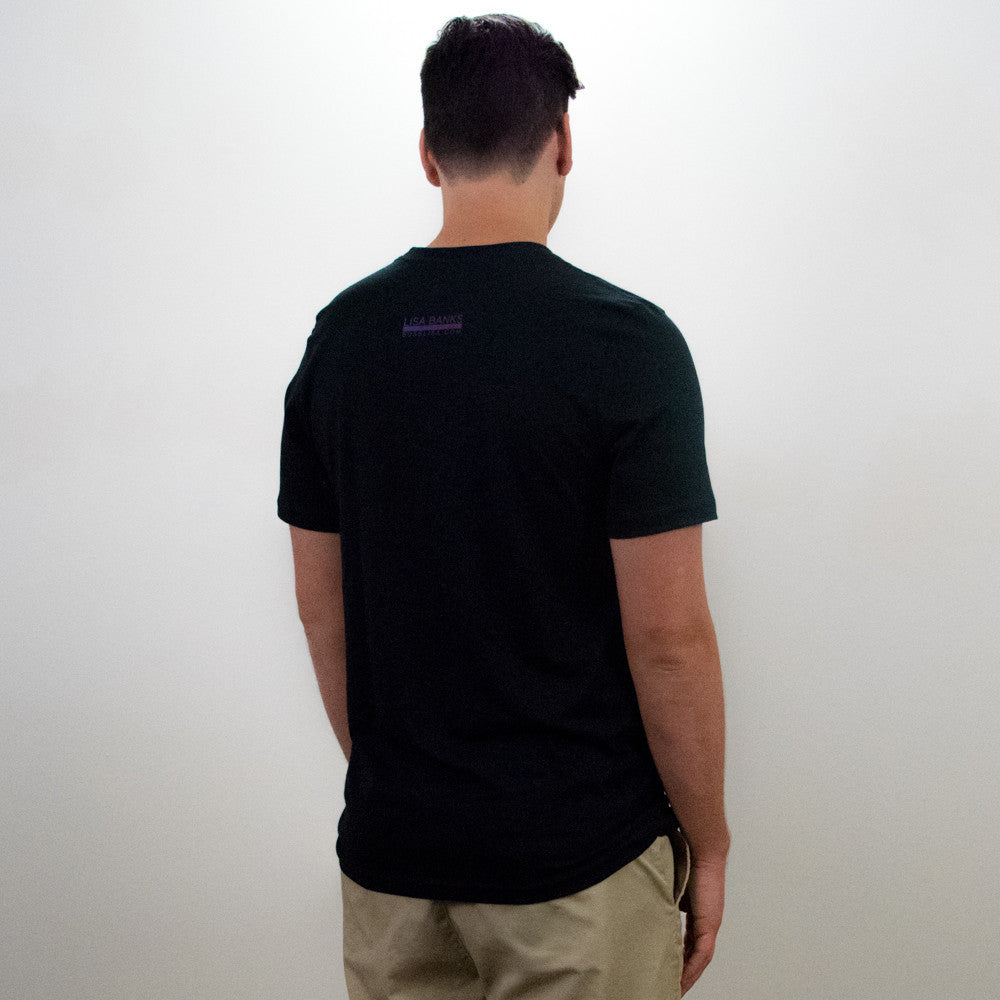 Suspended Motion Series Tee (back), Vintage Black