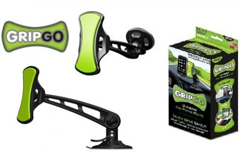 Grip and Go Universal Car Smartphone Mount