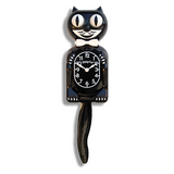 Classic Black Kit Cat Wall Clock