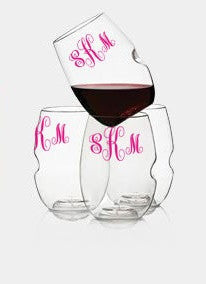 Monogram Govino Dishwasher safe glassware