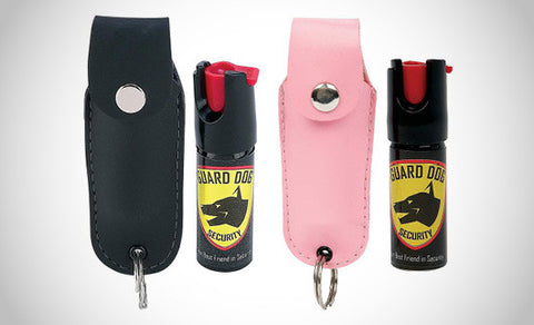 Pepper Spray Keychains, 2-Pack