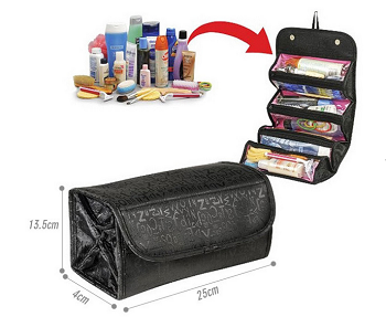 Roll and Go Cosmetic Bag