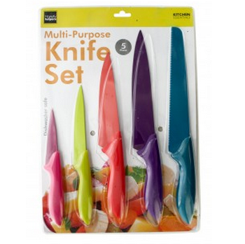 5 Piece Kitchen Knife Set