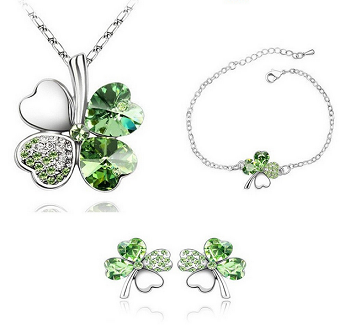 18 kgp Lucky Clover Trio Set