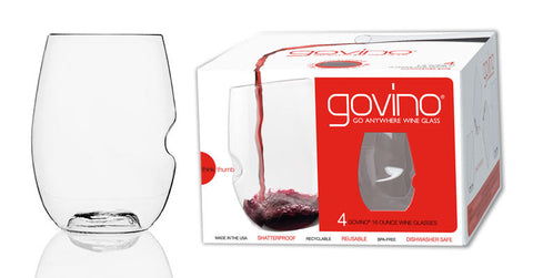 Govino Dishwasher safe glassware