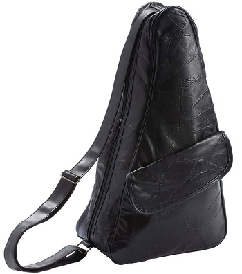 Genuine Leather Shoulder Backpack