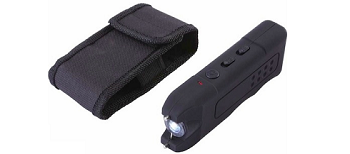 Compact Protection Flashlight & Stun Gun