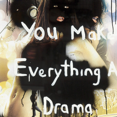 Tony Garifalakis & Richard Lewer 'You Make Everything a Drama' collaboration greeting card