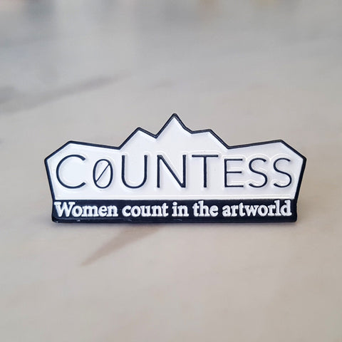 Elvis Richardson 'CoUNTess' pin