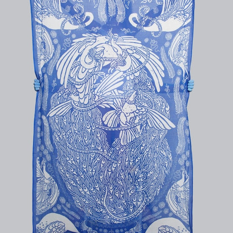 Lucas Grogan 'The Peacock Scarf'