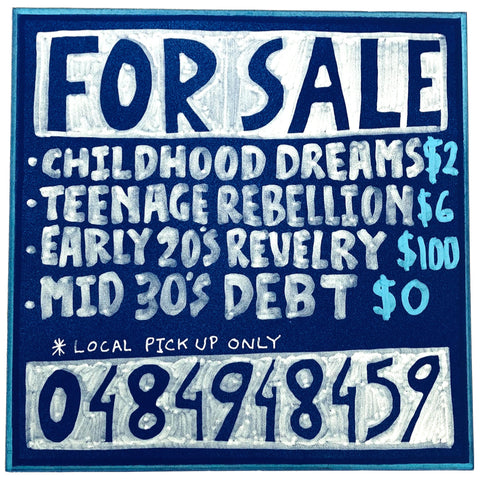Lucas Grogan 'For Sale: Childhood Dreams'