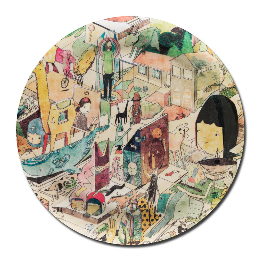 David Booth [Ghostpatrol] melamine plate