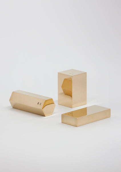 Daniel Emma 'Brass Paperweights Set'