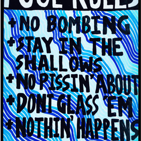 Lucas Grogan 'Pool Rules'