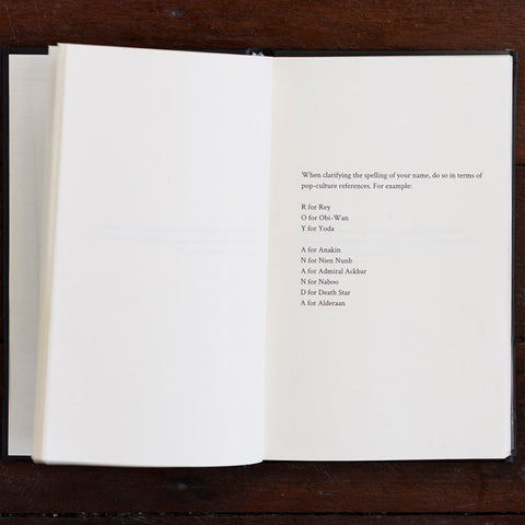 Roy Ananda '72 acts of fandom' Artist Book