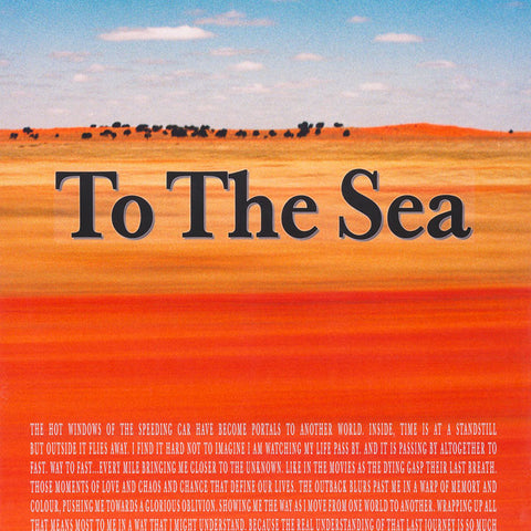 Narelle Autio 'To the Sea' Poster