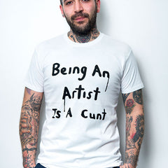 Richard Lewer 'Being an artist' t-shirt