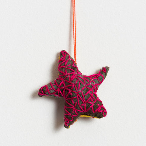 Dulcie Sharpe 'Star' ornament