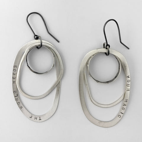 Your magic hoop earrings
