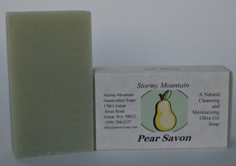 PEAR SAVON SOAP