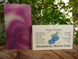 HUCKLEBERRY HEAVEN SOAP